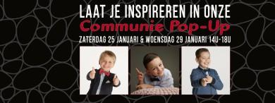 Communie Pop-Up 25 en 29 januari 2020l